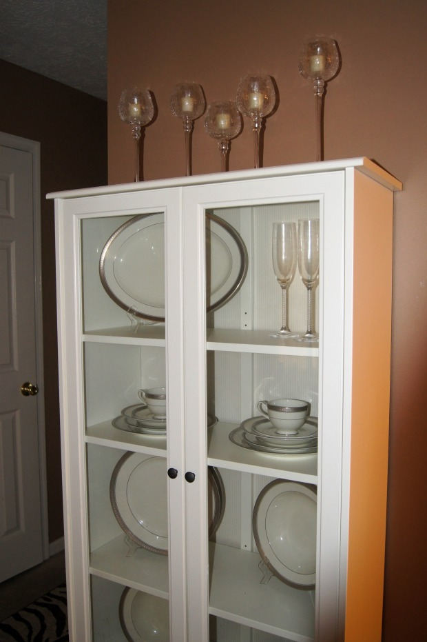 Wedding China Cabinet, heelsandhome